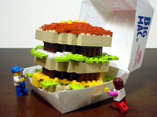 Lego Big Mac