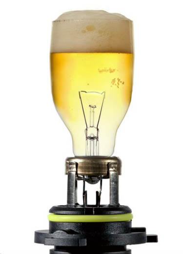 Light Beer Bulb