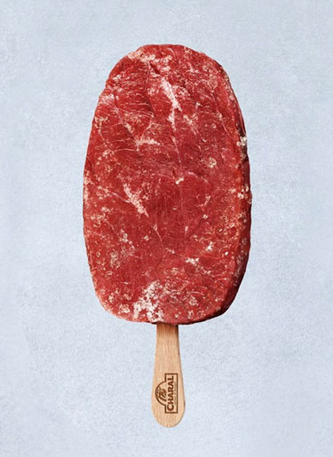 Frozen Meat On A Stick