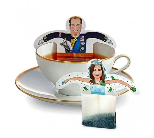 Prince William and Kate Middleton Tea Bags