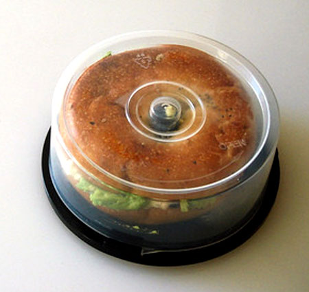 CD Spindle Bagel Case