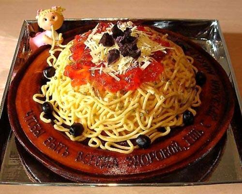 Spaghetti Cake » Funny, Bizarre, Amazing Pictures & Videos