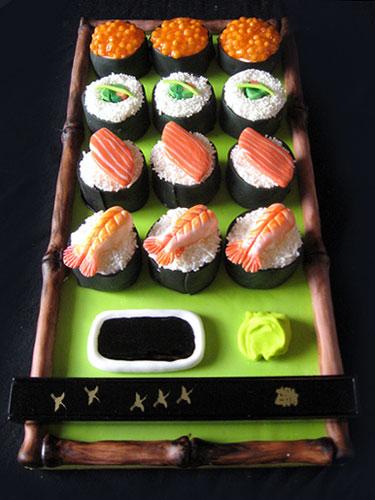 Sushi Cake Sculpture