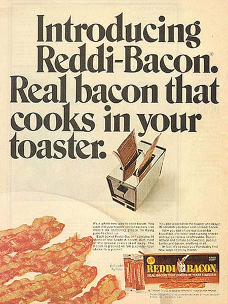 Toaster Bacon