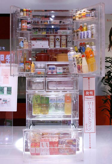 Transparent Fridge