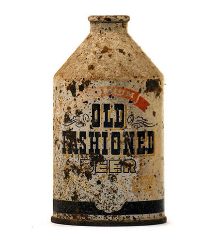 Old Fashioned Beer Bottle