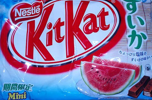 Watermelon KitKat Chocolate Bar