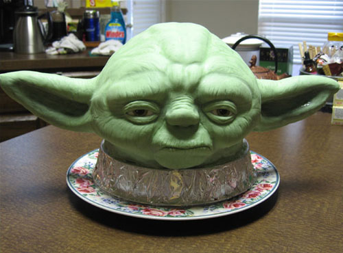 Yoda Cake