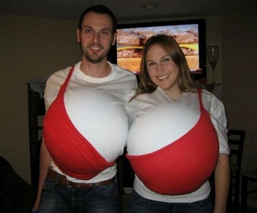 Two Person Bra Costume