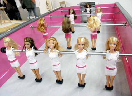 Barbie Table Football