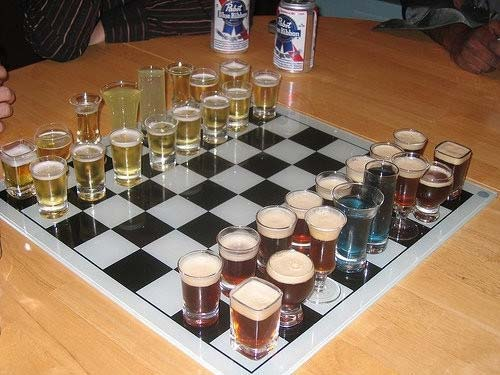 Beer Chess Drinking Game