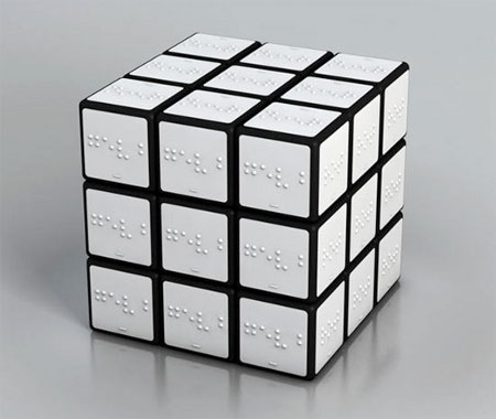 Rubiks Cube Braille Edition