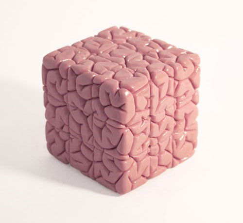 Brain Shaped Rubiks Cube