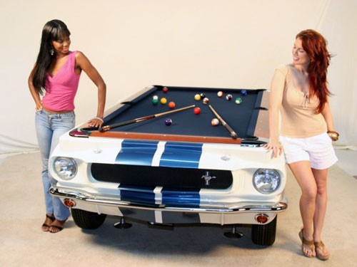 Chopped GT 350 Shelby Mustang Pool Table