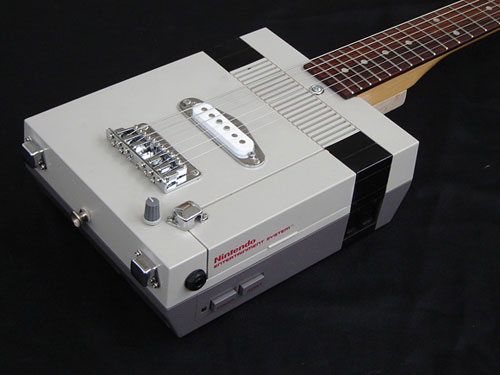 6 String NES Electric Guitar