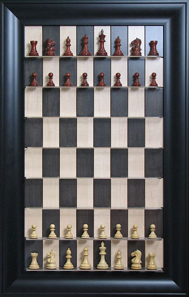 Vertical Wall Hanging Chess Board