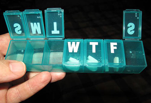 WTF Wednesday Pill Box