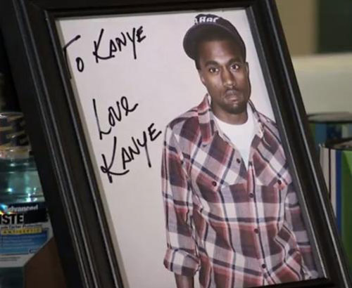 To Kanye Signed Photo