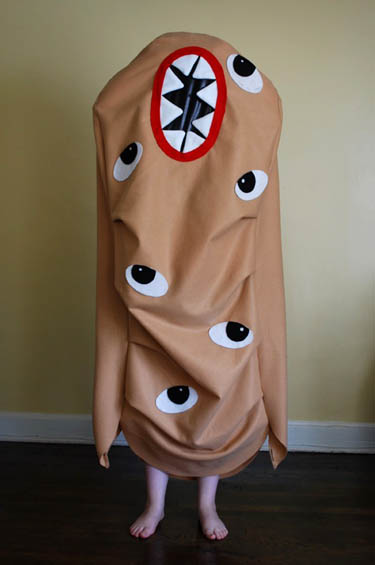 Potato Monster Costume