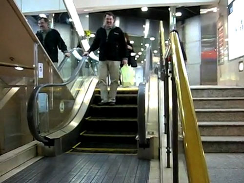 Five Step Mini Escalator