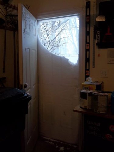Snow Drift Doorway