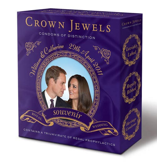 Crown Jewels Commemorative Condoms