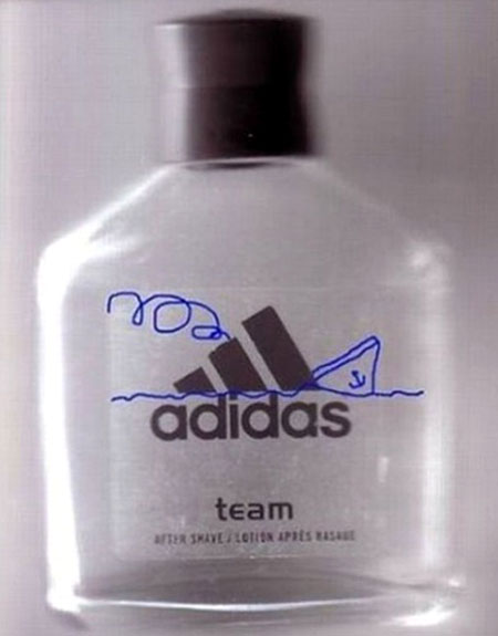 Titanic Drawn Adidas After Shave