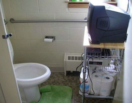 Bathroom Gamer