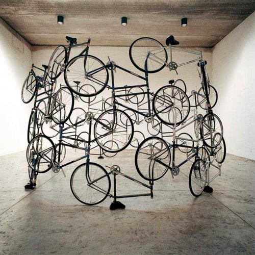 Bicycle Circle Assemblage