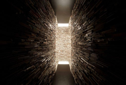 Book Cave Sculpture