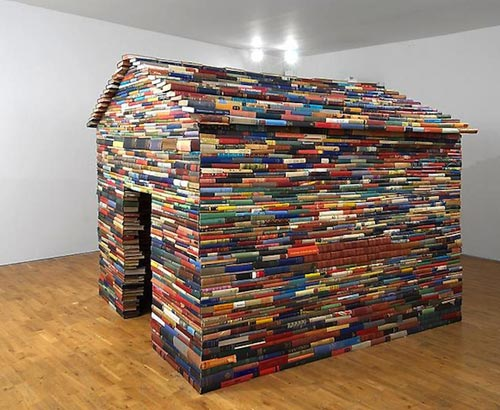 House Built With Books
