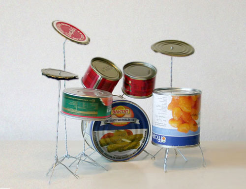 Tin Can Drum Kit