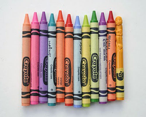 Crayola Carvings