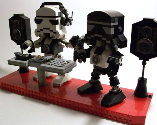 Lego Stormtrooper Sculpture