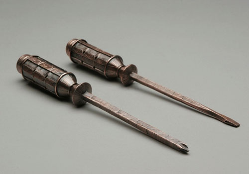 Penny Screwdriver Sculptures