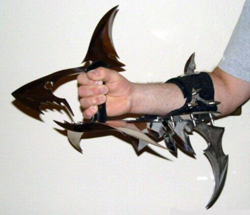 Shark Gauntlet