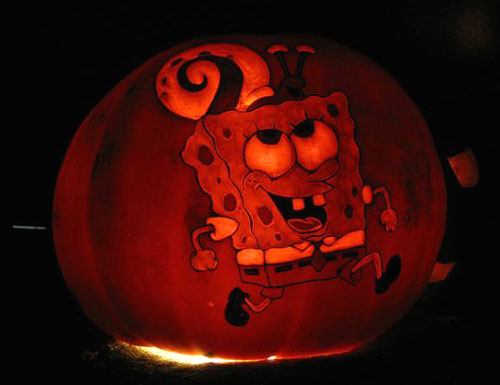 Spongebob Pumpkin Carving