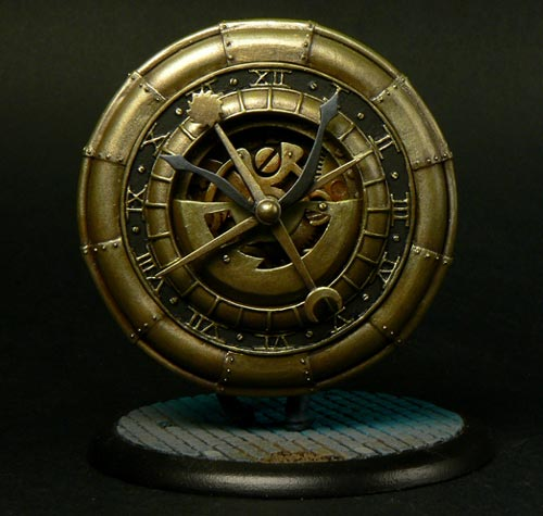Pocket Watch Sculpture