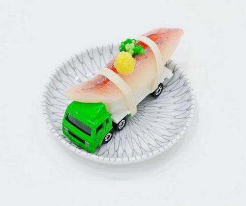 Sushi Truck Sculpture