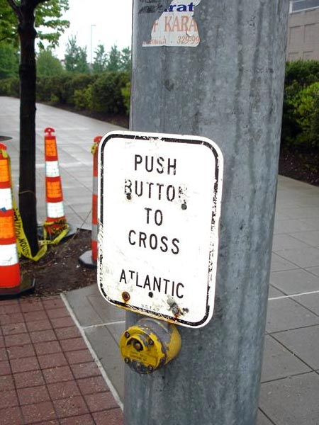 Push Button To Cross Atlantic