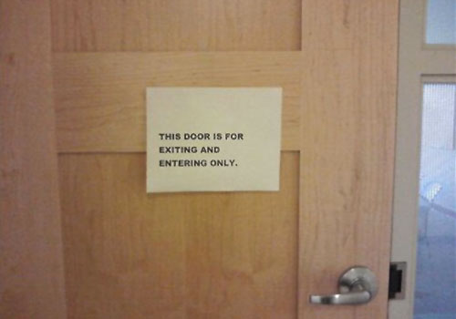 Door Rules Note