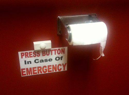 Restroom Emergency Button