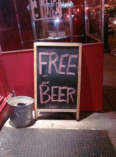 Great Beer Sign