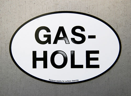 Gas-Hole Magnets