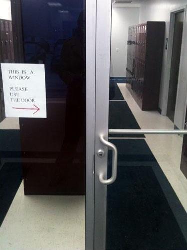 This Is A Window, Not A Door