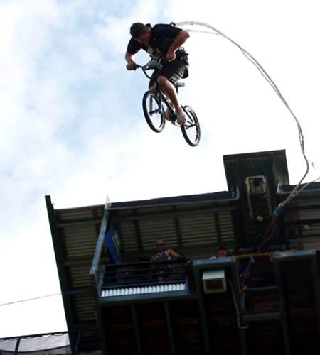 BMX Bungee Jumping