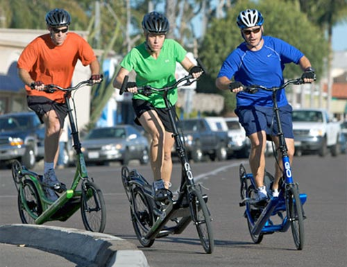 Outdoors Elliptical Bikes