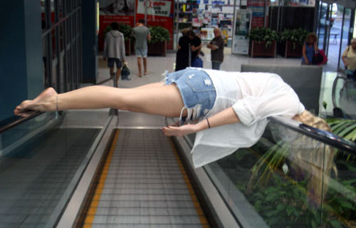 Escalator Planking