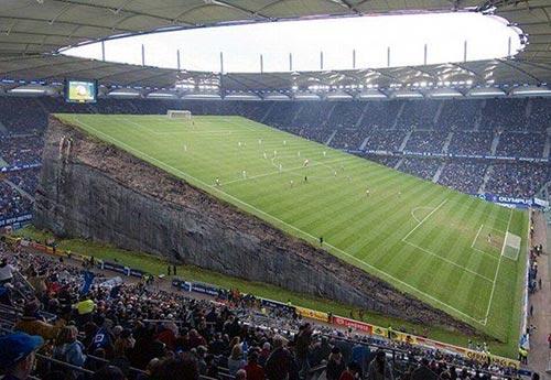 Tilted Soccer Field