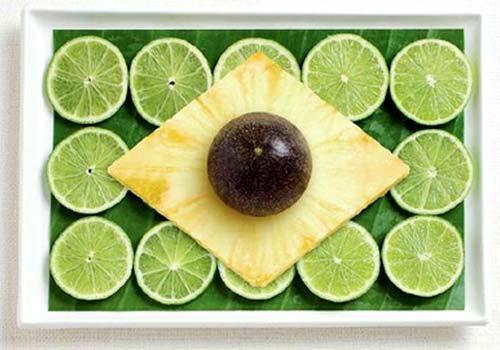 Brazilian Food Flag